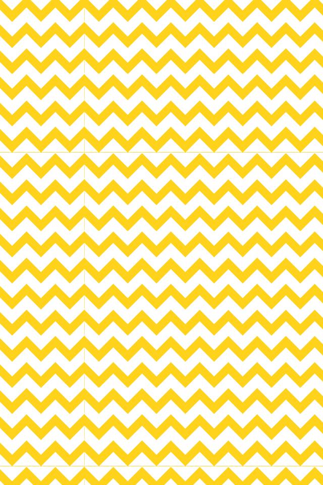 Yellow Chevron, IPhone Wallpaper